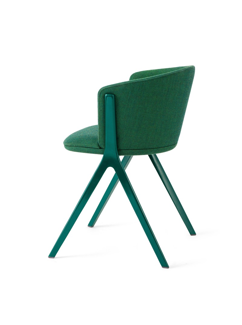 Press kit | 4129-01 - Press release | EDITS -         A New Era of Affordable High-Design - EDITS - Product - Circus Soft in Forest Green with matching Green frame.  - Photo credit: EDITS 2019