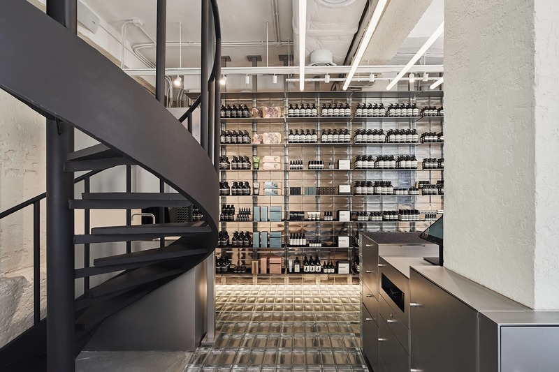 Press kit | 3160-05 - Press release | Frame Awards 2020 Longlist Announced - Frame - Competition - Aesop Gough Street - <i>Single Brand Store of the Year</i> - Photo credit: MarchStudio