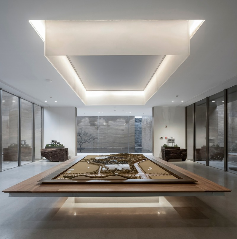 Press kit | 4181-01 - Press release | Greentown Yiwu Peach Blossom Land Living Experience Centre - Hangzhou 9M Architectural Design Co., Ltd. - Event + Exhibition - Display Area - Photo credit: Li Yao