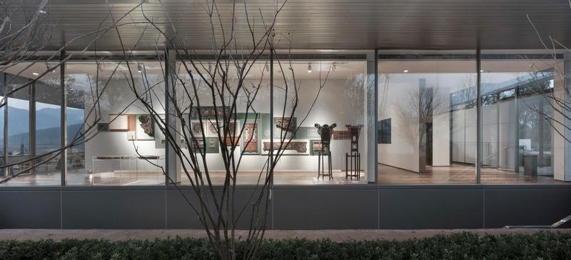 Press kit | 4181-01 - Press release | Greentown Yiwu Peach Blossom Land Living Experience Centre - Hangzhou 9M Architectural Design Co., Ltd. - Event + Exhibition -  Culture Display Quarter - Photo credit: Li Yao