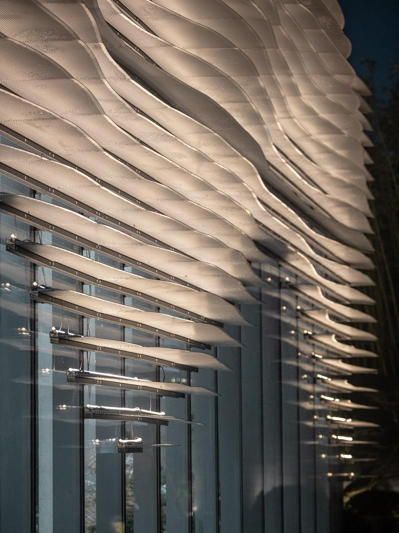 Dossier de presse | 4150-01 - Communiqué de presse | Shanxiao Sales Pavilion, Chongqing - aoe - Architecture commerciale - Crédit photo : Huang Ligang
