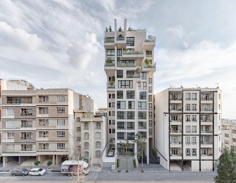 Press kit | 661-54 - Press release | World Architecture Festival 2019 – Day One Winner of International Architectural Awards Announced - World Architecture Festival (WAF) - Competition - Cedrus Residential by Nextoffice  - Photo credit: Majid Jahangiri