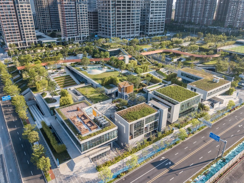 Press kit | 661-54 - Press release | World Architecture Festival 2019 – Day One Winner of International Architectural Awards Announced - World Architecture Festival (WAF) - Competition - Vanke Liuxiandong Design Community - A4+B2 Plot Design by FCHA  - Photo credit: Guanhong Chen