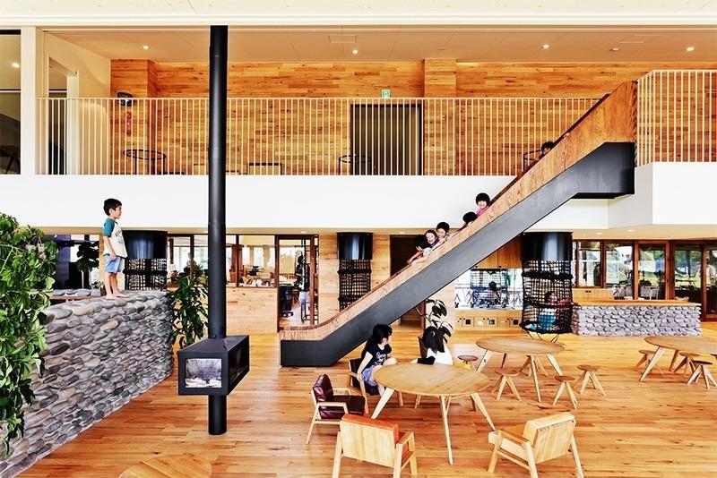 Press kit | 661-54 - Press release | World Architecture Festival 2019 – Day One Winner of International Architectural Awards Announced - World Architecture Festival (WAF) - Competition - YM Nursery by HIBINOSEKKEI + Youji no Shiro + KIDS DESIGN LABO  - Photo credit: studio BAUHAUS