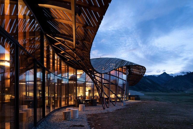 Press kit | 661-57 - Press release | World Architecture Festival 2019 – Day Two Winners of International Architectural Awards Announced - World Architecture Festival (WAF) - Competition - Lindis Lodge by Architecture Workshop  - Photo credit: Patrick Reynolds Photography