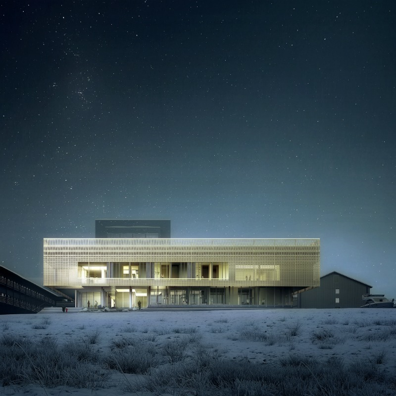 Dossier de presse | 661-57 - Communiqué de presse | World Architecture Festival 2019 – Day Two Winners of International Architectural Awards Announced - World Architecture Festival (WAF) - Concours - Psychiatric clinic, Nuuk by White Arkitekter AB, DIFK Dipl.-Ing. Florian Kosche, ÅF Engineering AS  - Crédit photo : White Arkitekter and Luxigon