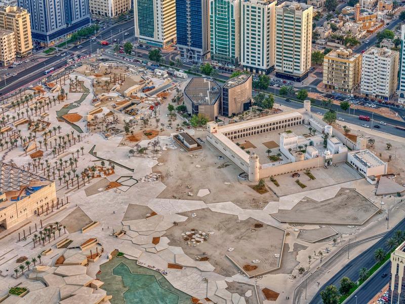 Dossier de presse | 661-57 - Communiqué de presse | World Architecture Festival 2019 – Day Two Winners of International Architectural Awards Announced - World Architecture Festival (WAF) - Concours - Qasr Al Hosn/ Al Musallah by CEBRA  - Crédit photo : CEBRA