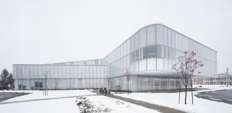 Press kit | 721-09 - Press release | Drummondville Public Library - Chevalier Morales Architectes - Institutional Architecture - Photo credit: Adrien Williams