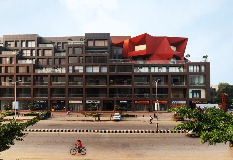 Press kit   1432-06 - Press release   Stellar - Sanjay Puri Architects - Commercial Architecture - Front View B - Photo credit: Mr. Abhishek Shah