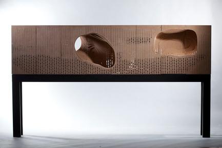 Dossier de presse | 763-08 - Communiqué de presse | GianPiero Moretti « Machines à paysage » - La Maison de l'architecture du Québec (MAQ) - Évènement + Exposition - Crédit photo : Benoît camirand