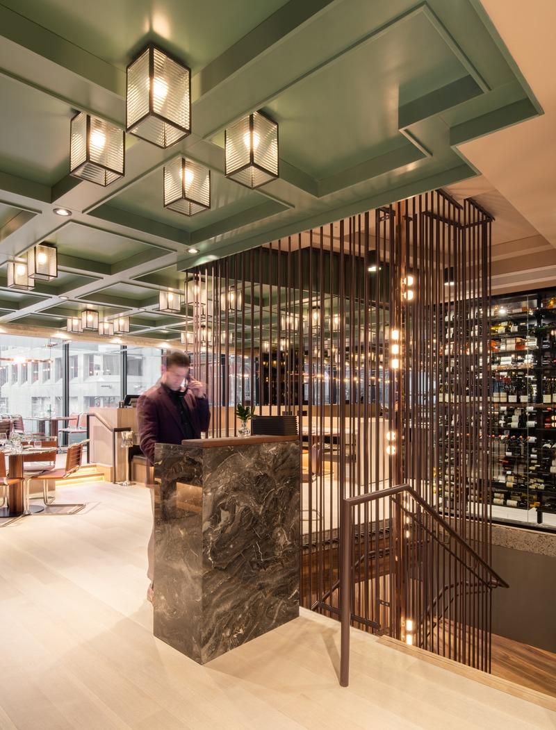 Interieur D Un Bar dossier de presse - le boulevardier & le flâneur bar lounge