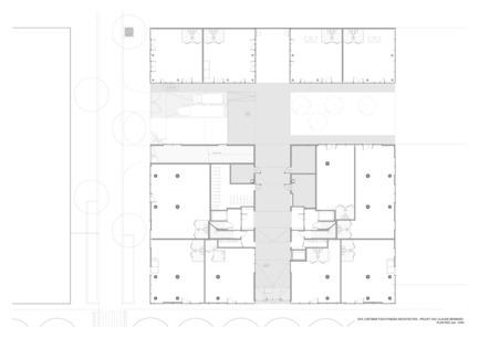 Press kit | 1008-03 - Press release | ZAC Claude Bernard - Dietmar Feichtinger Architectes - Architecture résidentielle - Photo credit: Dietmar Feichtinger Architectes