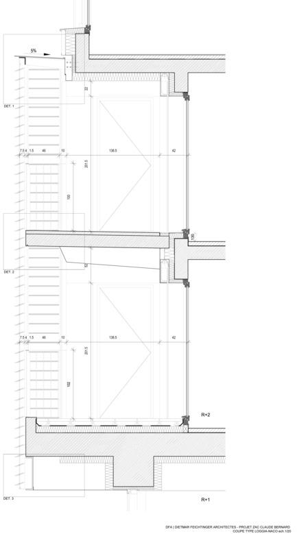 Press kit | 1008-03 - Press release | ZAC Claude Bernard - Dietmar Feichtinger Architectes - Residential Architecture - Photo credit: Dietmar Feichtinger Architectes