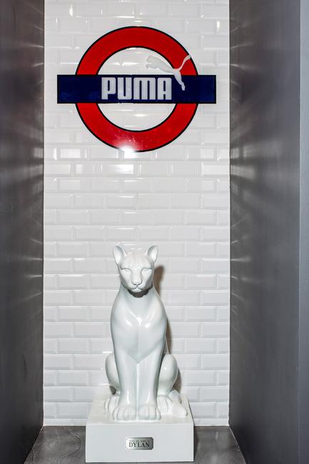 Dossier de presse | 999-01 - Communiqué de presse | Puma Stores Amsterdam, London and Munich - plajer & franz - Commercial Interior Design - puma store - London - Crédit photo : manuel schlüter