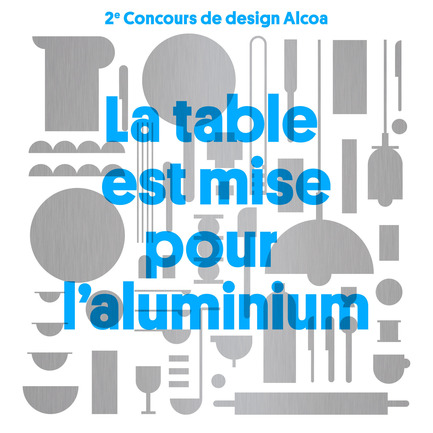 Press kit | 974-02 - Press release | Alcoa Canada launches the2nd edition of its design contest - Alcoa Canada Groupe Produits primaires - Competition - Visuel du Concours - Photo credit: NH Photographes