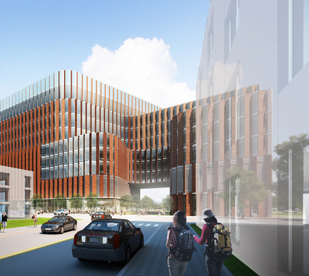Press kit | 991-01 - Press release | HOK selected to design new World-Class Medical School on the University at Buffalo's Downtown Campus - HOK NY - Competition - Photo credit: HOK