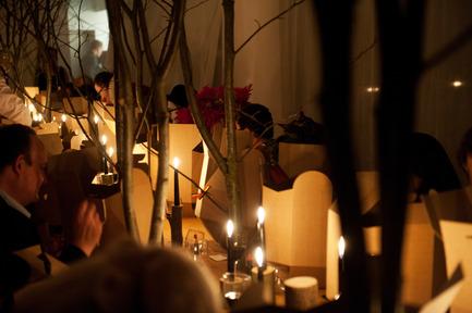 Dossier de presse | 962-01 - Communiqué de presse | La folie de Charles, sa table et ses hôtes - Charles Kaisin - Produit - 4ème mets - Crédit photo : Marie-Françoise Plissart