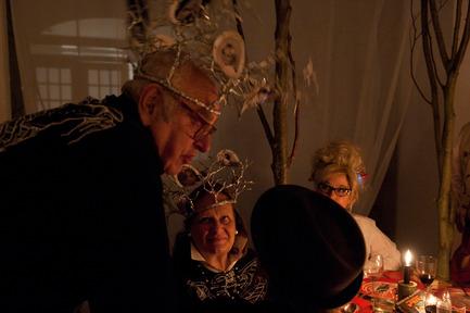 Dossier de presse | 962-01 - Communiqué de presse | La folie de Charles, sa table et ses hôtes - Charles Kaisin - Produit - Mr & Mme Christine et Micky Boel - Crédit photo : Marie-Françoise Plissart