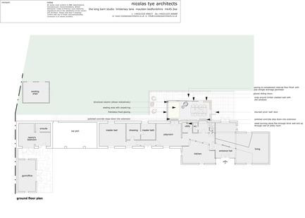 Press kit | 984-01 - Press release | Dovecote Barn - Nicolas Tye Architects - Residential Architecture