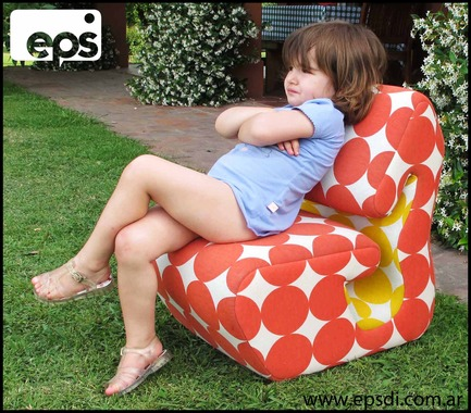 Press kit | 1001-01 - Press release | EPS Armchair for adult and child - EPS di - Product - Photo credit: Andres Jacobi