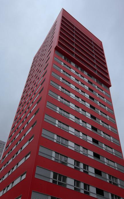 Press kit | 971-01 - Press release | 242 Viviendas de Protección Oficial - Iñaki Garai Zabala (ACXT Architects) - Immobilier - Photo credit: Aitor Ortiz