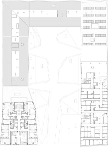 Press kit | 971-01 - Press release | 242 Viviendas de Protección Oficial - Iñaki Garai Zabala (ACXT Architects) - Immobilier