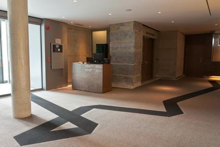 Press kit   683-08 - Press release   Couper Croiser reinvents commercial carpeting - Couper Croiser - Product - Musée des Beaux-Arts de Montréal (MBAM) - Photo credit: Patrick Palmer