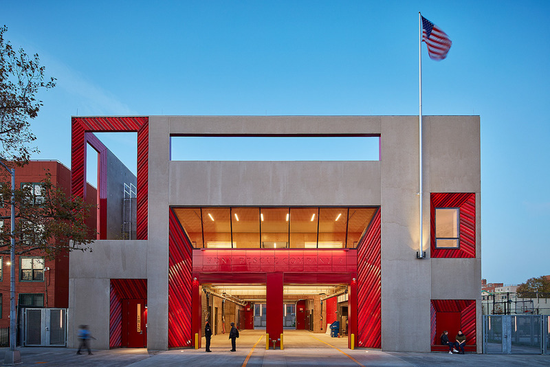 Press kit | 661-67 - Press release | WAF 2021 shortlist unveils best-designed buildings and landscapes from around the world - World Architecture Festival (WAF) - Competition - FDNY Rescue Company 2 by Studio Gang Architects - Photo credit: World Architecture Festival