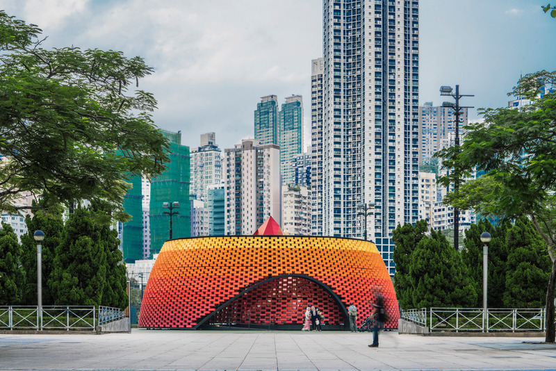 Press kit | 661-67 - Press release | WAF 2021 shortlist unveils best-designed buildings and landscapes from around the world - World Architecture Festival (WAF) - Competition - Wishing Pavilion by Daydreamers Design - Photo credit: World Architecture Festival
