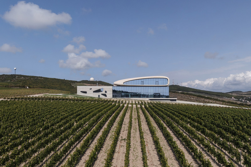 Press kit | 661-67 - Press release | WAF 2021 shortlist unveils best-designed buildings and landscapes from around the world - World Architecture Festival (WAF) - Competition - Cote Rocheuse Winery by Severin Proekt - Photo credit: World Architecture Festival
