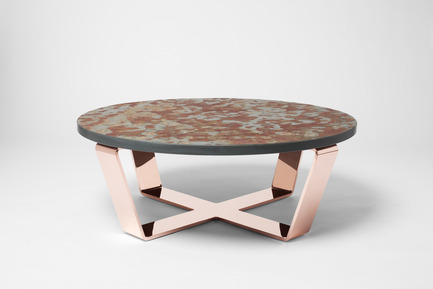 Press kit | 960-01 - Press release | Nikolas Kerl - Nikolas Kerl - Product - Slate Table Copper - Photo credit: Björn Allemann