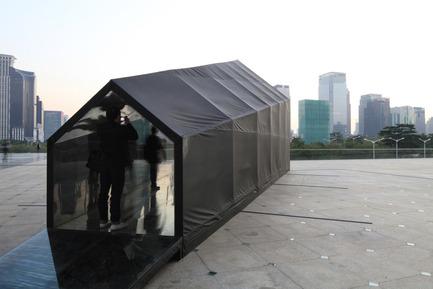 Dossier de presse | 965-01 - Communiqué de presse | Pavilion for 2011 Shenzhen - Hong Kong Biennale of Urbanism and Architecture - STUDIO UP - Event + Exhibition - Crédit photo : Miljenko Bernfest, Marko Salopek