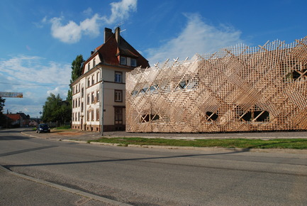 Dossier de presse | 924-01 - Communiqué de presse | Family creche in Drulingen - Fluor Architecture - Institutional Architecture - Crédit photo : Fluor Architects