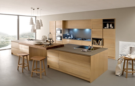 Press kit | 954-01 - Press release | Emmanuel Gallina: the elegance of simplicity - Emmanuel Gallina - Product - EUROCUCINA BAMAX CORTECCIA KITCHEN - Photo credit: BAMAX
