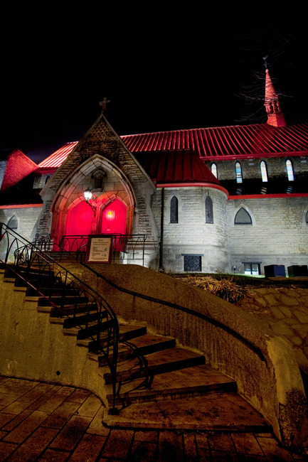 Press kit | 621-17 - Press release | Church of St. John the Evangelist - Lightemotion - Lighting Design - Photo credit: Martine Doyon