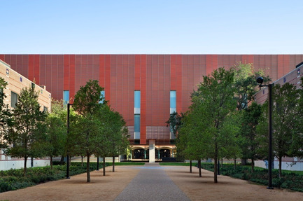 Press kit   929-01 - Press release   Brockman Hall for Physics, Rice University - KieranTimberlake - Institutional Architecture - FOR EDITORIAL REVIEW ONLY - CONTACT PHOTOGRAPHER TO NEGOTIATE USE FOR PUBLICATION: Joel Sanders, t +1 212 777 0078, joel@ottoarchive.com  - Photo credit: Michael Moran/OTTO