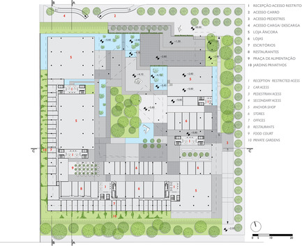 Press kit | 927-01 - Press release | The multi-use complex - Forte, Gimenes & Marcondes Ferraz Arquitetos - Commercial Architecture - Photo credit: Forte, Gimenes & Marcondes Ferraz Arquitetos