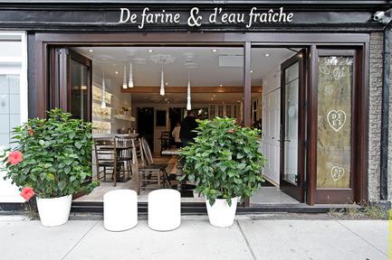 Press kit | 920-01 - Press release | De Farine & D'eau Fraîche - Surface3 - Commercial Interior Design - Photo credit: Vladimir Antaki