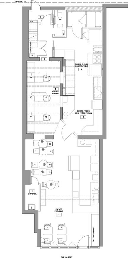 Dossier de presse | 920-01 - Communiqué de presse | De Farine & D'eau Fraîche - Surface3 - Design d'intérieur commercial
