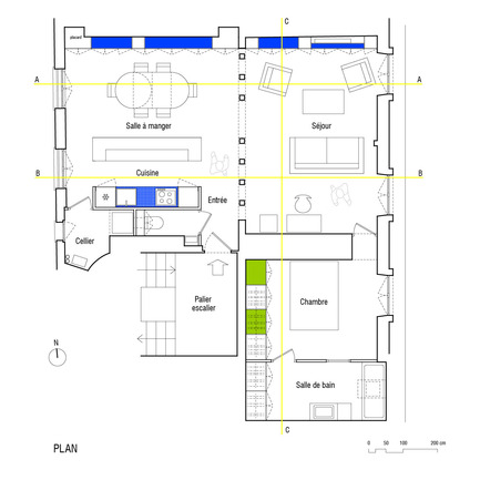 Press kit | 919-01 - Press release | Appartement écrins - SWAN architectes - Residential Interior Design