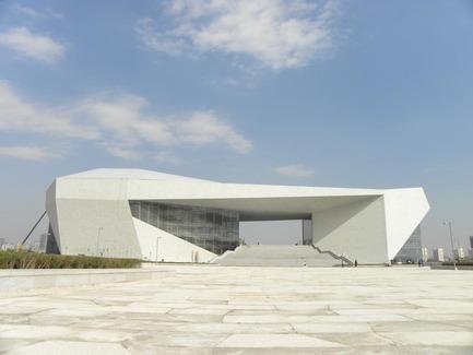 Dossier de presse | 896-01 - Communiqué de presse | Le Grand Thêatre du Shanxi, à Taiyuan (Chine) - Arte Charpentier Architectes - Architecture institutionnelle - Crédit photo : 3D - Zhou wenyi/ chef du projet