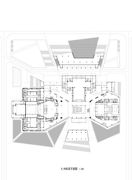 Press kit | 896-01 - Press release | The Shanxi Grand Theater, in Taiyuan (China) - Arte Charpentier Architectes - Institutional Architecture - Photo credit: Arte Charpentier Architectes