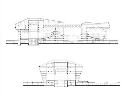 Dossier de presse | 896-01 - Communiqué de presse | Le Grand Thêatre du Shanxi, à Taiyuan (Chine) - Arte Charpentier Architectes - Architecture institutionnelle - Crédit photo : Arte Charpentier Architectes
