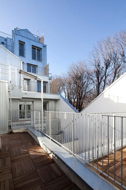 Dossier de presse | 903-01 - Communiqué de presse | 'M' Building - Stéphane Maupin architectes + Design & Nicolas Hugon architectes - Immobilier - Crédit photo : Cecile Septet
