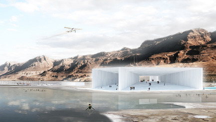 Dossier de presse | 809-10 - Communiqué de presse | Azure magazine announces the winners of it's 3rd annual AZ Awards - Azure Magazine - Competition - Concepts - Unbuilt Competition<br><br>Cristal public facility<br>by Sitbon Architectes