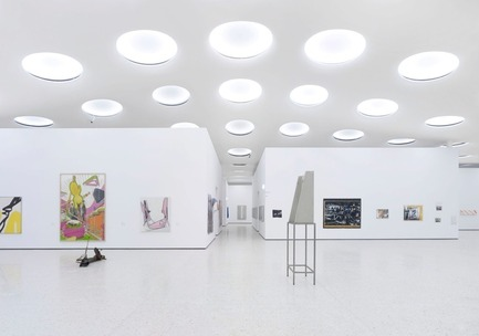 Press kit | 809-10 - Press release | Azure magazine announces the winners of it's 3rd annual AZ Awards - Azure Magazine - Competition - Design - Lighting<br><br>Stadel Museum Skylights installation<br>by Tanja Baum_Licht Kunst Licht