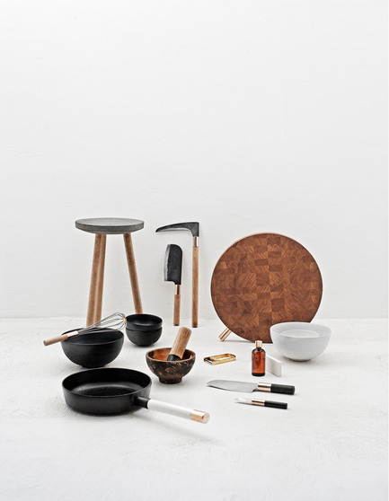 Press kit | 809-10 - Press release | Azure magazine announces the winners of it's 3rd annual AZ Awards - Azure Magazine - Competition - A+ Student Award<br><br>Essentials kitchen tools<br>by Daniel Kowal-Andersen (Kolding School of Design, Denmark)