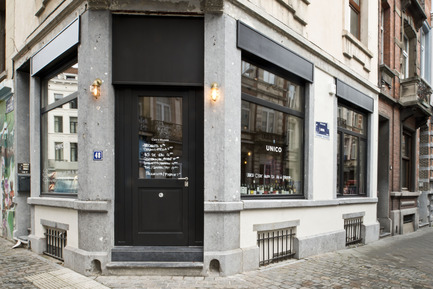 Press kit | 679-06 - Press release | Commerce Design Brussels Awards winners 2013 - Commerce Design Brussels - Competition - UNICO&nbsp;- Rue de la Longue Vie 48, B1050<br>by Atelier Dynamo