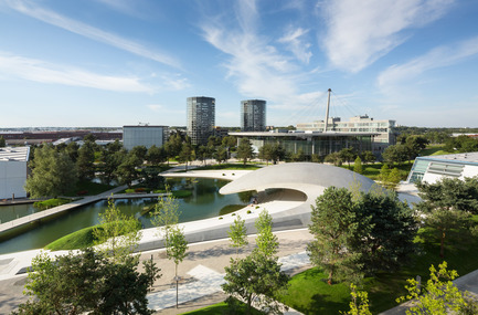 Press kit | 1071-01 - Press release | Architizer A+ Awards winners announced - Architizer - Competition - Porsche Pavilion - HENN Architekten - Photo credit: Architizer