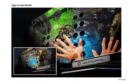 Dossier de presse | 562-28 - Communiqué de presse | Luminothérapie competition: finalists announced - Bureau du design - Ville de Montréal - Concours -  Lucion Média<br>Animaux momentanés